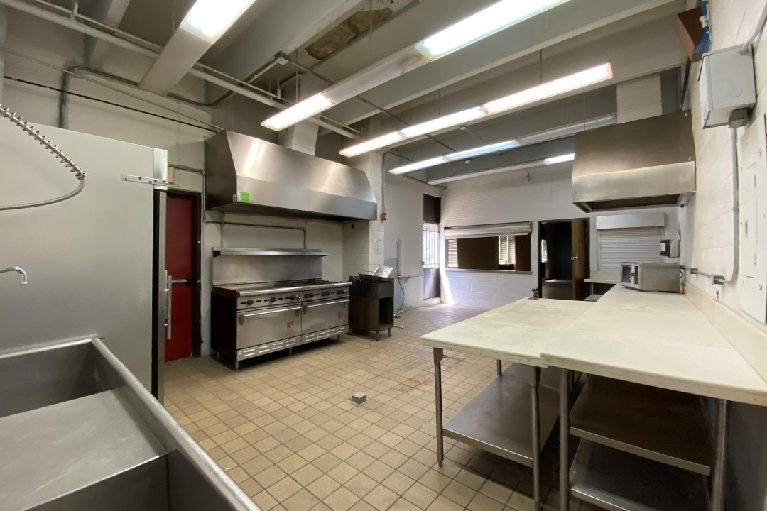 COMMERCIAL KITCHEN (Before) | This kitchen is what dreams are made of! We are so excited to finally have a commercial kitchen for our community events. What would you cook with our kids in this kitchen?